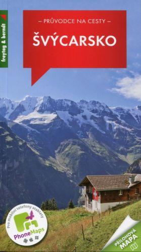 Freytag-Berndt Švýcarsko, průvodce na cesty cena od 224 Kč