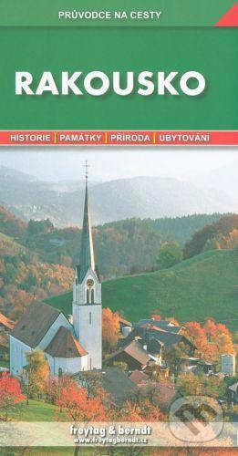 Freytag-Berndt Rakousko, průvodce na cesty cena od 217 Kč