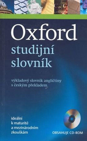 Phillips J.: Oxford studijní slovník - výkladový slovník angličtiny s českým překladem + CD cena od 354 Kč
