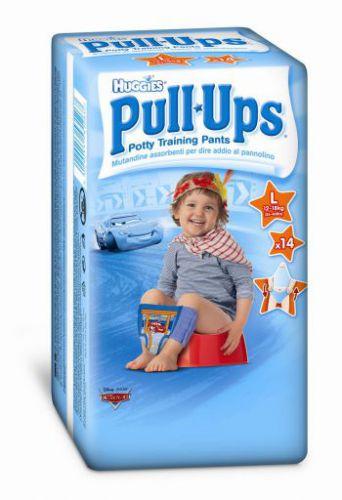 Huggies Pull-Ups Large - Boys 14 ks