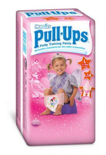 Huggies Pull-Ups Large - Girls 14 ks