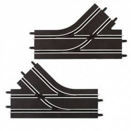CARRERA 61618 Mechanická výhybka vlevo-vpravo černá