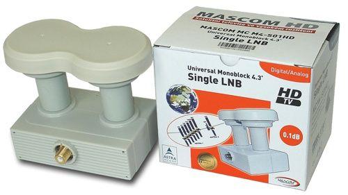 MASCOM MC M4-S01HD Monoblock single cena od 359 Kč