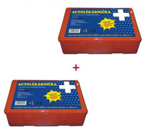 Euronax Autolékárnička 2011 plast cena od 168 Kč