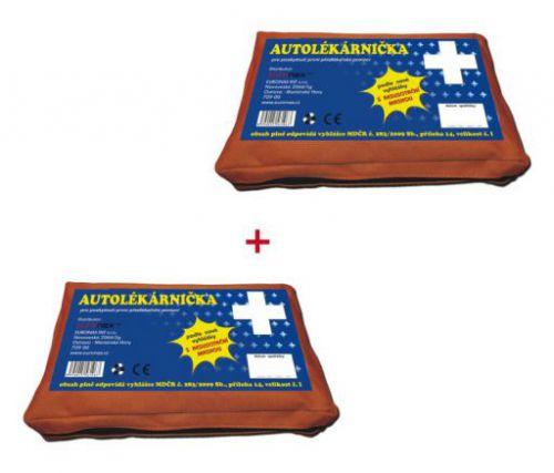 Euronax Autolékárnička 2011 textil