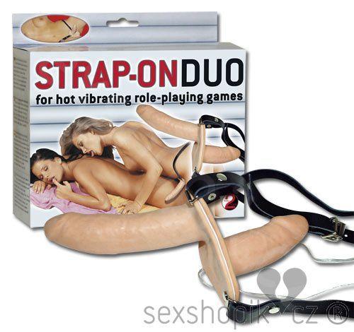 You2Toys Postroj se dvěma dildy Strap On