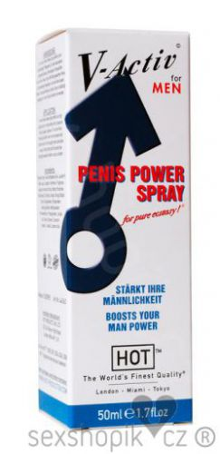 HOT V-Activ Penis Power spray