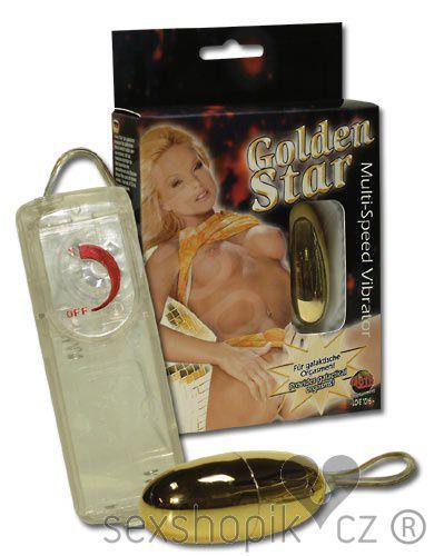 You2Toys Vibrační vajíčko zlaté Golden Star