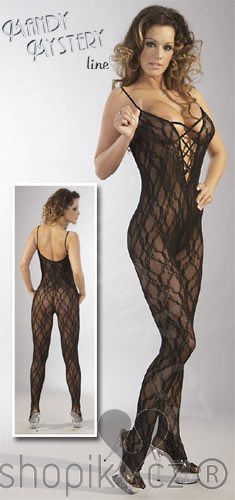 Mandy Mystery Catsuit ouvert