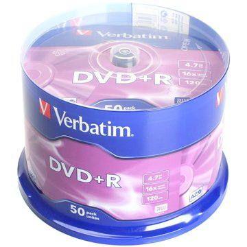 Verbatim DVD+R 16x 50ks cakebox
