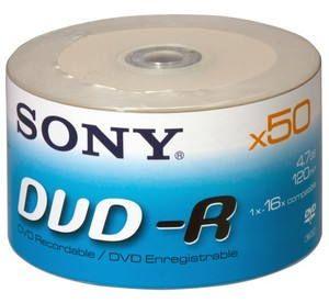 SONY DVD-R 50ks bulk