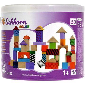 Simba Dřevěné kostky barevné cena od 299 Kč