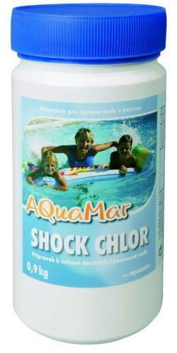 Aquamar Chlor Shock 0,9 kg cena od 289 Kč