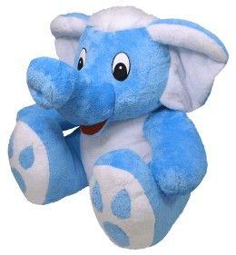MÚ BRNO Slůně Bimbo - modro - bílé, 55 cm cena od 858 Kč