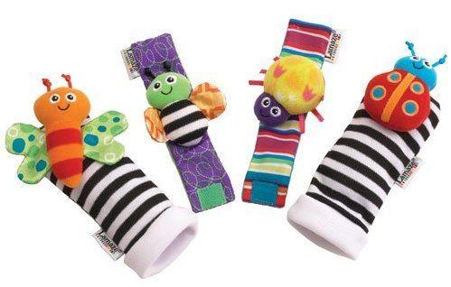 Lamaze Chrastící ponožky a náramky cena od 409 Kč
