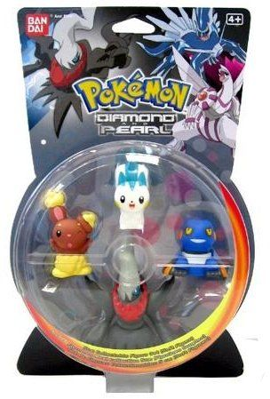 Bandai: Pokémon B&W: Sběratelské figurky (3+1) cena od 302 Kč