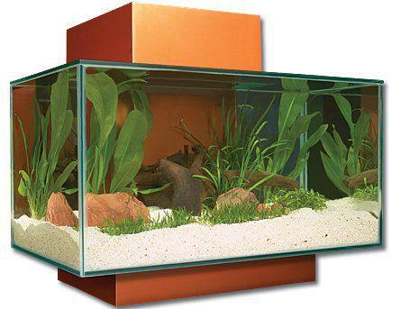 Hagen Aquarium 3D Fluval Edge oranžové 23 l