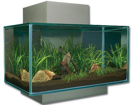 Hagen Aquarium 3D Fluval Edge šedé 23 l