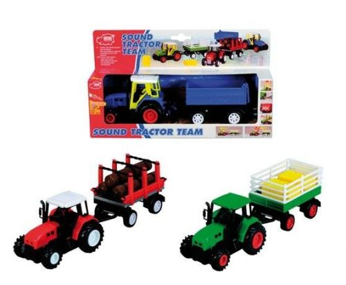 DICKIE Traktor s přívěsem cena od 320 Kč