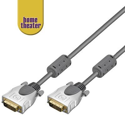 Home Theater HQ kabel DVI-D, dual link, M/M, 3m
