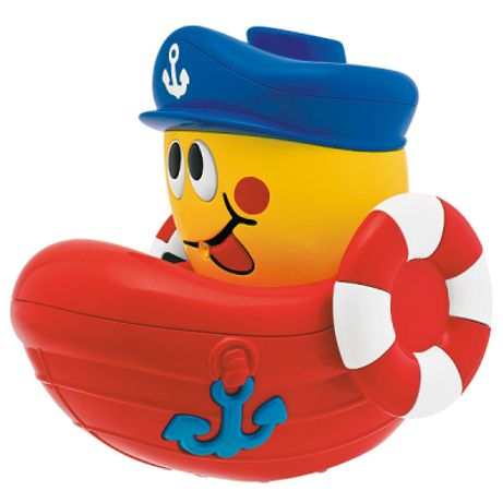 Chicco kapitán parník - do vody, stříkací