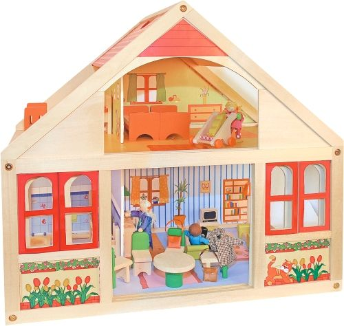 Woody Domeček pro panenky - Veronika cena od 1389 Kč