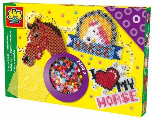 SES Zažehlovací korálky - koně cena od 0 Kč