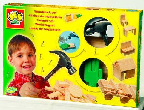 SES Výroba dřevěných hraček cena od 398 Kč