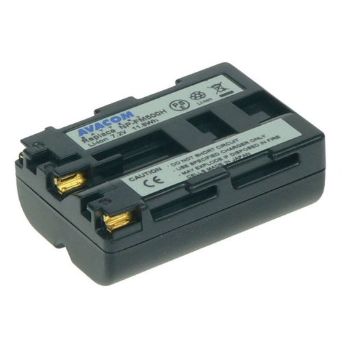 Avacom AKU Sony NP-FM500H Li-ion 7.4V 1650 mAh 11.8Wh
