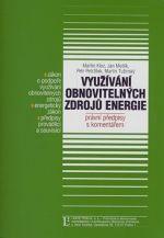Martin Kloz: Využívání obnovitelných zdrojů energie cena od 0 Kč