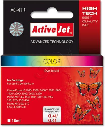 ACTIVEJET CL-41 barevná Canon iP1600/iP2200