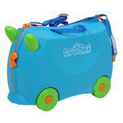 KNORR Dětský kufr TRUNKI - modrý