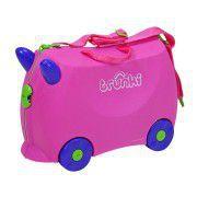 KNORR Dětský kufr TRUNKI - růžový
