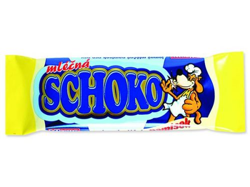 DAFIKO Čokoláda mléčná 30g (664-02994)