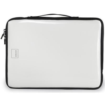 Acme Made Slick Laptop Sleeve-L bílé