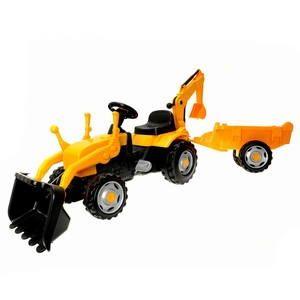 Smoby Šlapací traktor s vlekem a lžící cena od 0 Kč