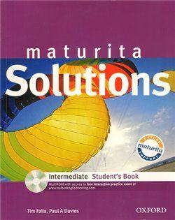 Tim Falla: Maturita Solutions Intermediate Student´s Book with MultiROM Pack CZ cena od 188 Kč