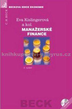 Eva Kislingerová: Manažerské finance cena od 1114 Kč