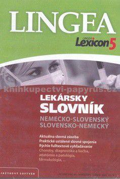 Lingea Lexicon5 Lekársky slovník nemecko-slovenský sloven cena od 0 Kč