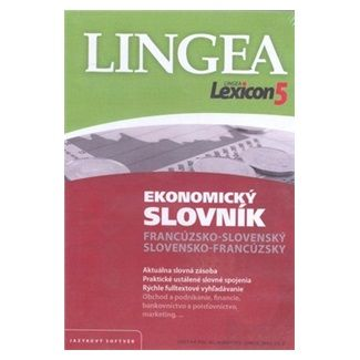 Lingea Lexicon5 Ekonomický slovník francúzsko-slovenský s cena od 1159 Kč