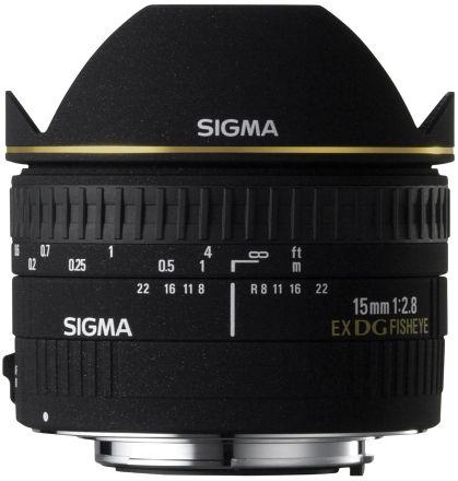 Sigma 15mm F2.8 EX DG FISHEYE Nikon