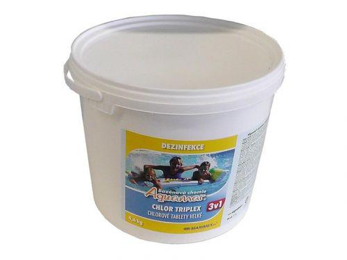 Marimex AQuaMar - Chlor Triplex 4,6 kg cena od 749 Kč