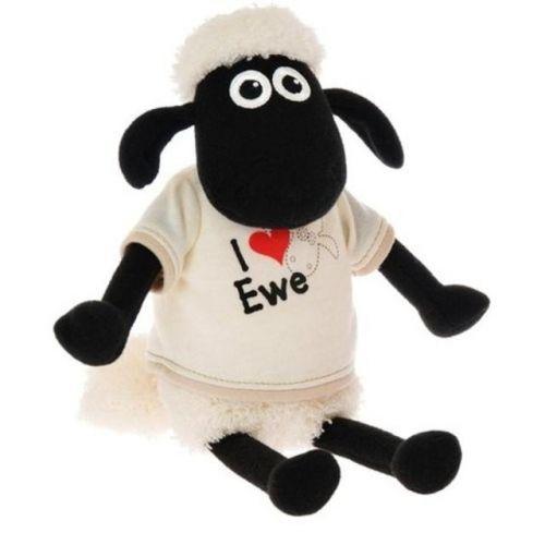 OVEčKA SHAUN Ovečka Shaun v tričku - I love Ewe