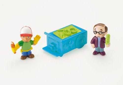 Mattel Handy Manny - základni figurky cena od 169 Kč
