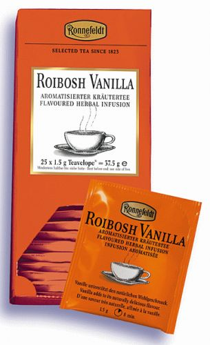Ronnefeldt Roibosh Vanilla cena od 155 Kč