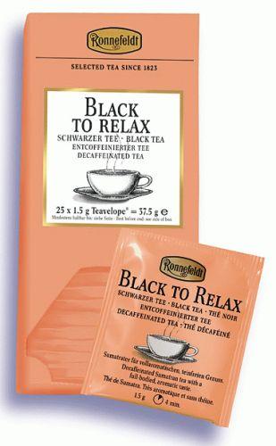 Ronnefeldt Black To Relax (bez kofeinu) cena od 130 Kč
