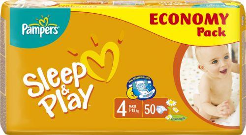 Pampers Sleep&Play 4 Maxi - 50 ks