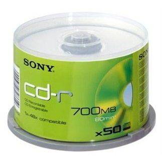 SONY CD-R 50ks cakebox