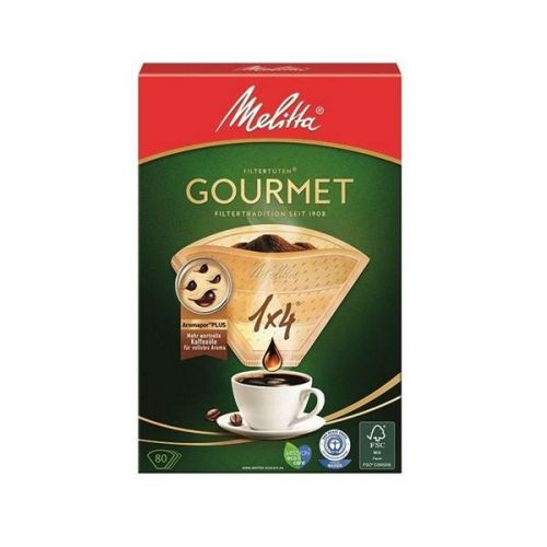 Melitta 1x4/80 GOURMET cena od 58 Kč