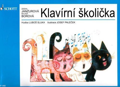 Janžurová Zdena: Klavírní školička cena od 204 Kč